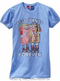 Gap 2009 Junk Food Tees