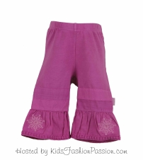 knit bottoms with woven bell bottoms-GBB4365SU24-sereia